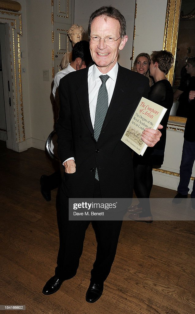 Sir Nicholas Serota attends as Charles Saumarez Smith, Chief Executive of the Royal Academy of Arts, launches his new book 'The Company Of Artists: The Origins Of The Royal Academy Of Arts In London' at The Royal Academy of Arts on October 15, 2012 in London, England.