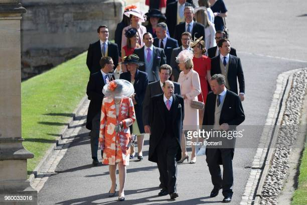 Sir Nicholas Soames attends the wedding of Prince Harry to Ms Meghan Markle at St George's Chapel, Windsor Castle on May 19, 2018 in Windsor,...