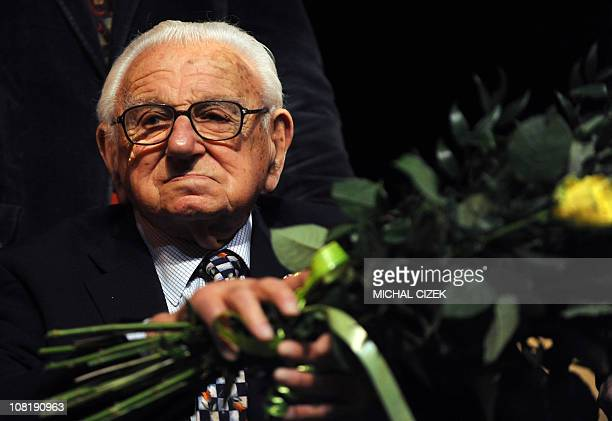 Sir Nicholas Winton, who arranged for the children to be hosted by British families and negotiated their departure with the occupying Nazi Germans...