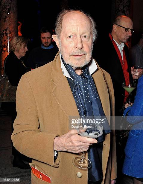 Sir Nicolas Roeg attends the private view for the 'David Bowie Is' exhibition in partnership with Gucci and Sennheiser at the Victoria and Albert...