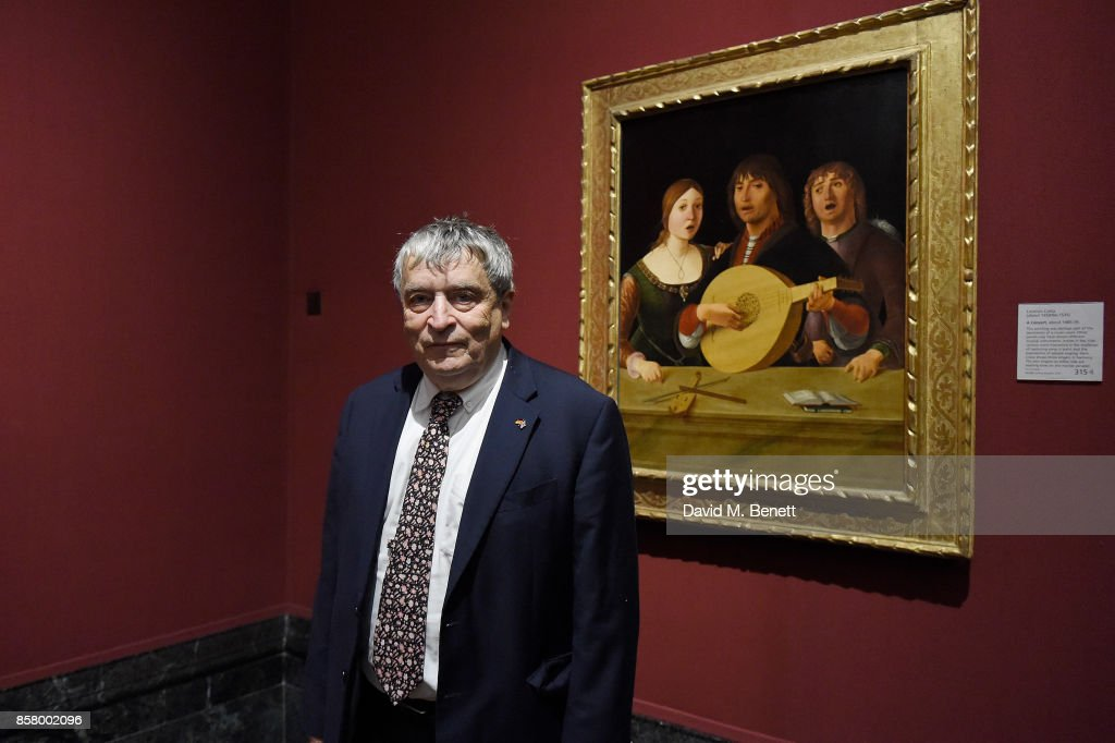 Sir Norman Rosenthal attends 'Unexpected View' co-hosted by the National Gallery and Galerie Thaddaeus Ropac on the occasion of Frieze 2017 at The National Gallery on October 5, 2017 in London, England.