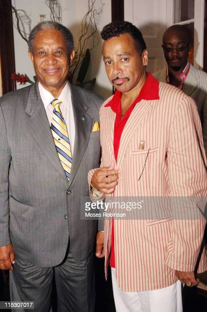 Sir Orville Turnquest Former Governor General of the Commonwealth of Bahamas and Morris Day singer
