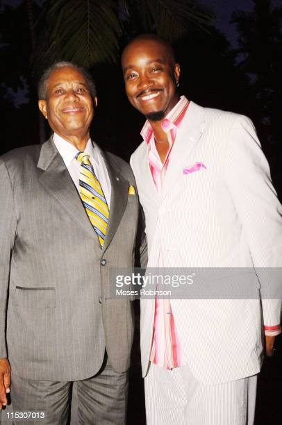Sir Orville Turnquest the Former Governor General of the Commonwealth of Bahamas and Comedian Jonathan Slocum