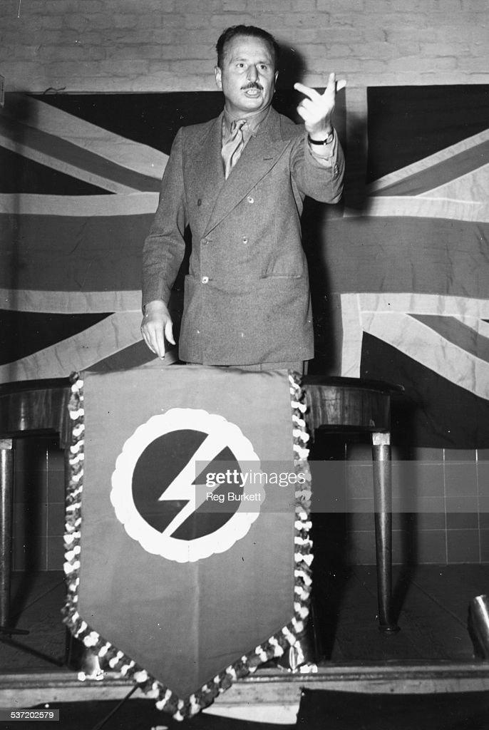 Sir Oswald Mosley : ニュース写真