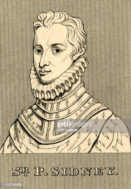 Sir P. Sidney', , 1830. Philip Sidney English poet, courtier, scholar, and soldier, an aristocrat educated at Christ Church, Oxford and prominent...