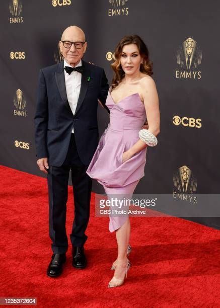 Sir Patrick Steward and guest attend the 73RD EMMY AWARDS on Sunday, Sept. 19 on the CBS Television Network and available to stream live and on...