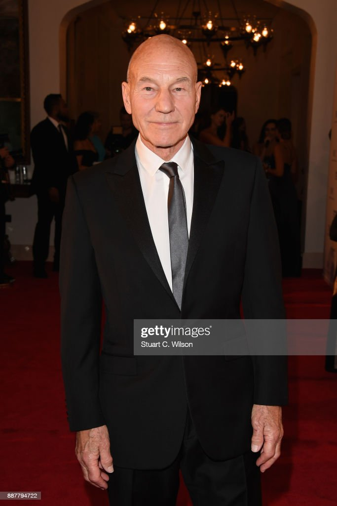 Sir Patrick Stewart attend the sixth IWC Filmmaker Award gala dinner at the 14th Dubai International Film Festival (DIFF), during which Swiss luxury watch manufacturer IWC Schaffhausen celebrated its long-standing passion for filmmaking at One And Only Royal Mirage on December 7, 2017 in Dubai, United Arab Emirates.