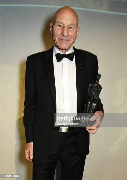 Sir Patrick Stewart attends The 62nd London Evening Standard Theatre Awards after party recognising excellence from across the world of theatre and...
