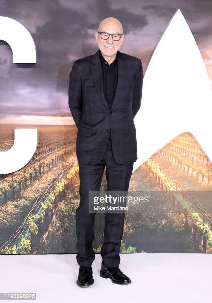 Sir Patrick Stewart attends the Star Trek Picard UK Premiere at Odeon Luxe Leicester Square on January 15 2020 in London England