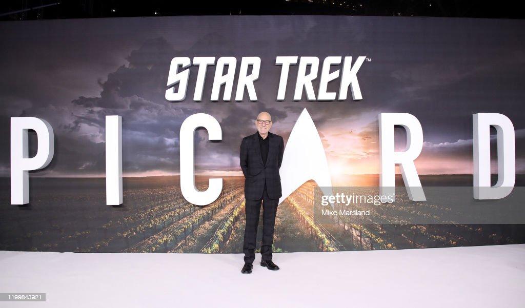 """Star Trek Picard"" UK Premiere - Red Carpet Arrivals : Nieuwsfoto's"