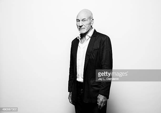 """Sir Patrick Stewart, from the movie """"Green Room"""" is photographed for Los Angeles Times on September 25, 2015 in Toronto, Ontario. PUBLISHED IMAGE...."""