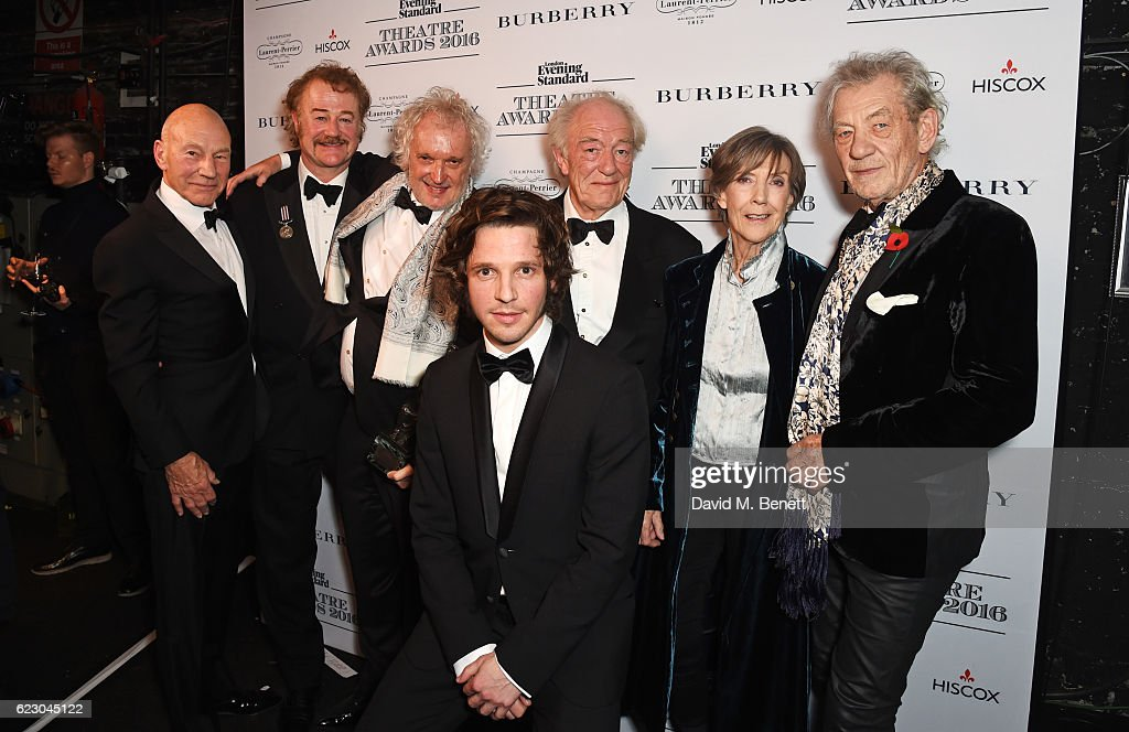 The 62nd London Evening Standard Theatre Awards - Winners Boards : News Photo