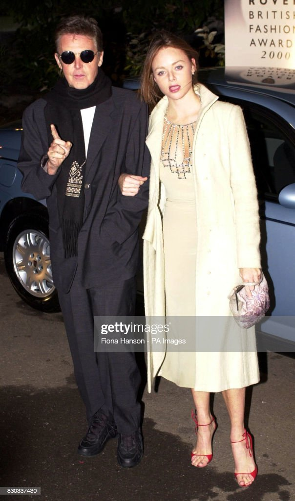 Sir Paul McCartney And Designer Daughter Stella Arrive At The Rover British Fashion Awards 2000