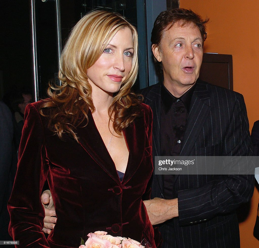 Sir Paul McCartney And Heather Mills Attend The Each One Believing Private View Of