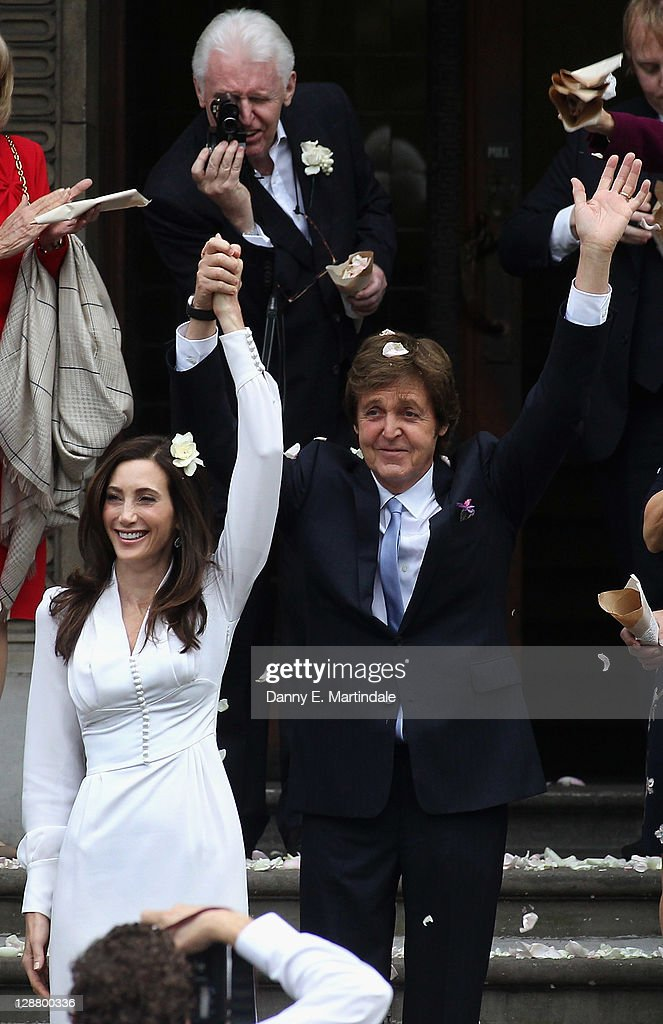 Sir Paul McCartney and Nancy Shevell - Wedding : News Photo