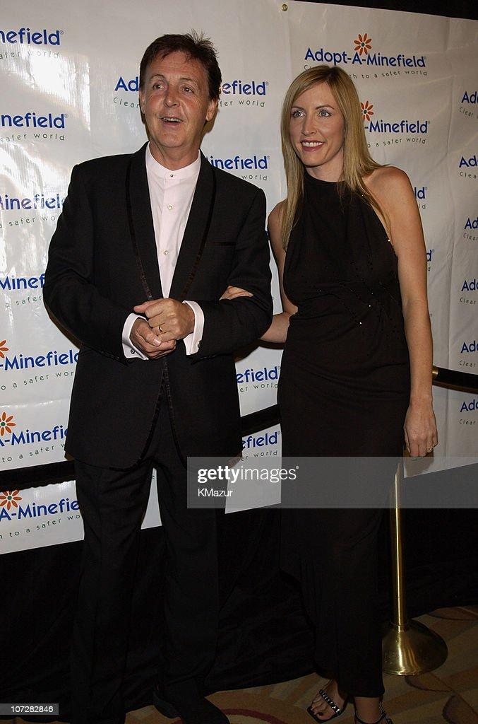 Sir Paul McCartney And Wife Heather Mills