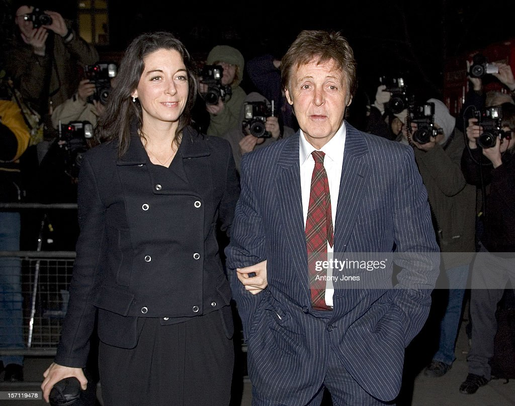 Sir Paul Mccartney Daughter Mary Attend A Burns Night Dinner At LondonS St MartinS