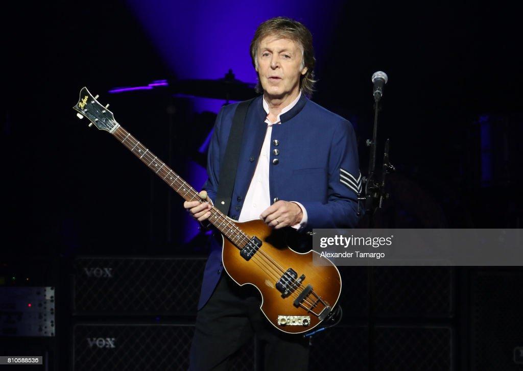 Paul McCartney In Concert : News Photo