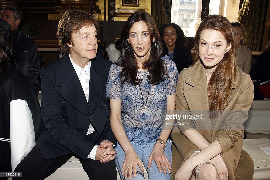 Stella McCartney: Front Row - Paris Fashion Week Fall/Winter 2012