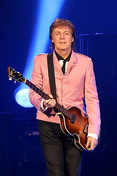 Sir Paul McCartney Performs In Concert At The Frank Erwin Center On May 22 2013