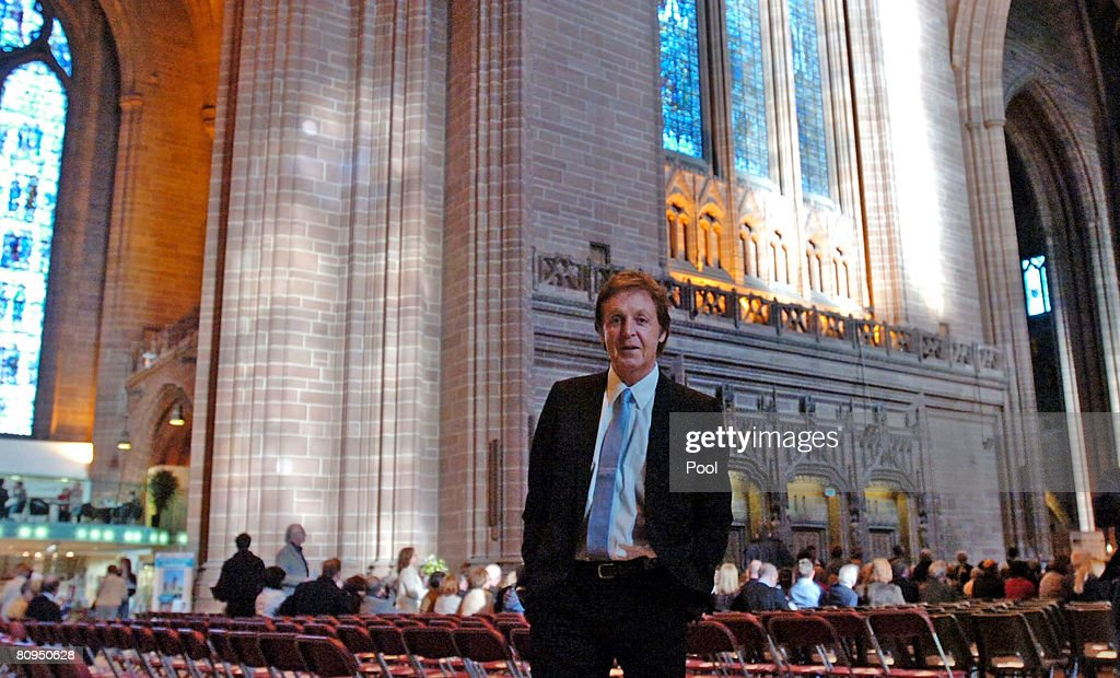 Sir Paul McCartney Attends The Premiere Performance Of His New Classical Work : News Photo