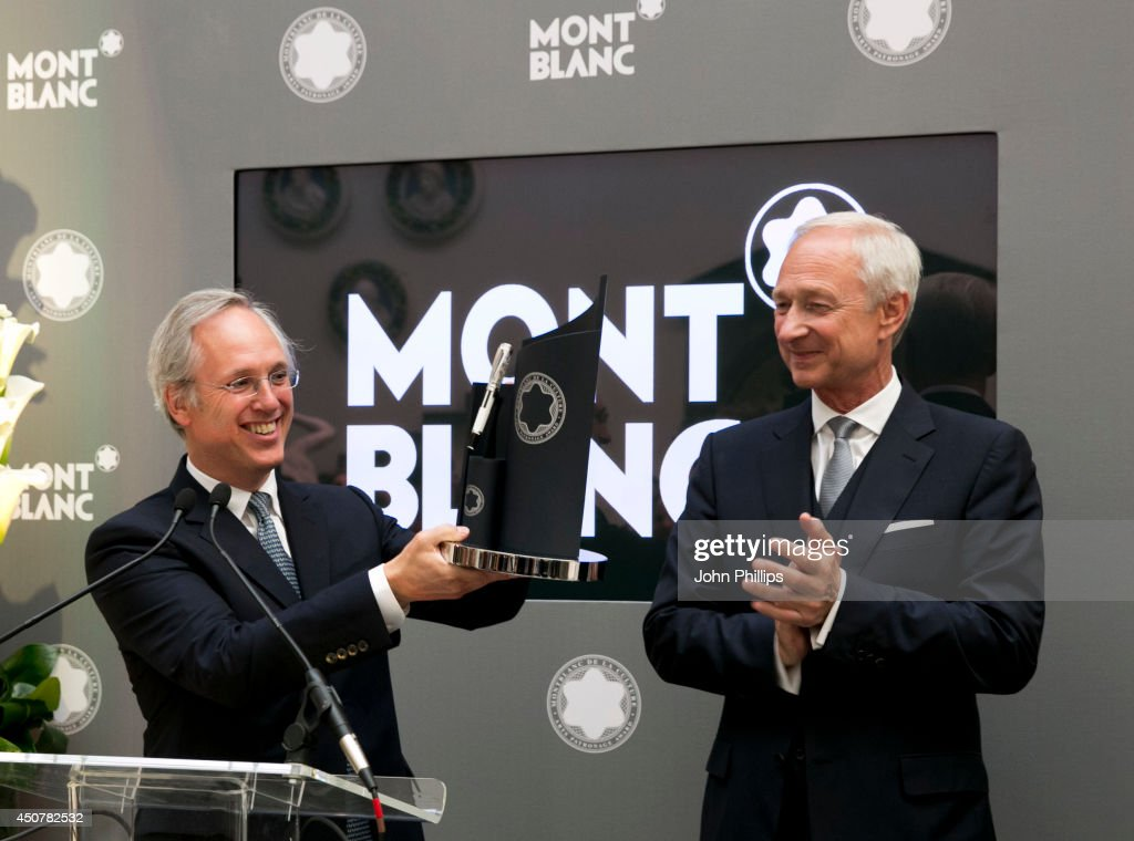 Montblanc De La Culture Arts Patronage Award 2014