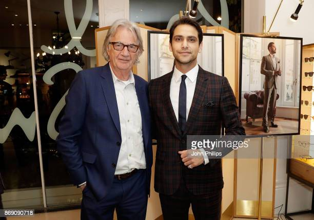 Sir Paul Smith and Luke Pasqualino attend an intimate evening hosted by Paul Smith The Gentleman's Journal to introduce the Paul Smith Bespoke By...