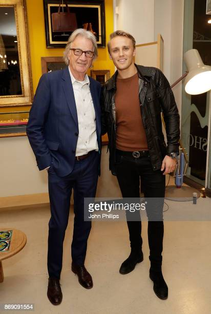 Sir Paul Smith and Max Chilton attend an intimate evening hosted by Paul Smith The Gentleman's Journal to introduce the Paul Smith Bespoke By...