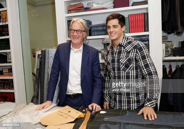 Sir Paul Smith and Pietro Boselli attend an intimate evening hosted by Paul Smith The Gentleman's Journal to introduce the Paul Smith Bespoke By...
