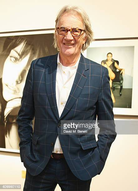 Sir Paul Smith attends a book launch and exhibition of Profiles by Marc Hom hosted by Sir Paul Smith Thomas Vinterberg and Marc Hom at Paul Smith...