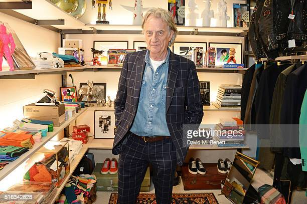 Sir Paul Smith attends an exclusive VIP preview of the Dover Street Market on March 18 2016 in London England
