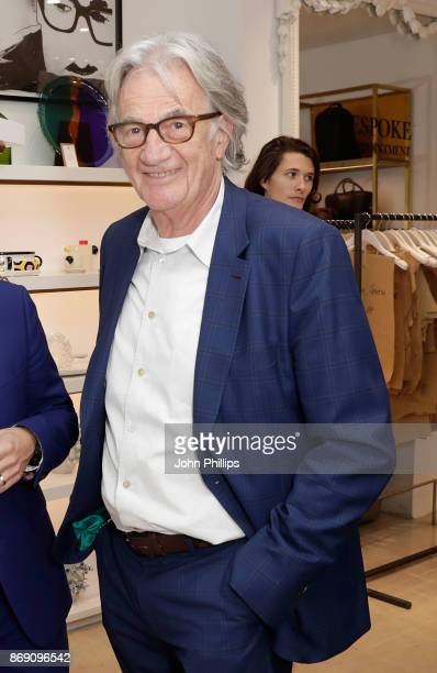 Sir Paul Smith attends an intimate evening hosted by Paul Smith The Gentleman's Journal to introduce the Paul Smith Bespoke By Appointment service on...