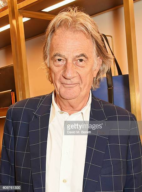 Sir Paul Smith attends the launch of new book 'Grace The American Vogue Years' by Grace Coddington hosted by Sir Paul Smith at Paul Smith Albemarle...