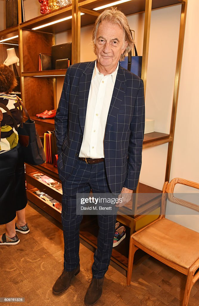 "Sir Paul Smith & Grace Coddington Celebrate The Launch Of ""Grace: The American Vogue Years"" : News Photo"