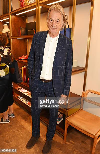 Sir Paul Smith attends the launch of new book Grace The American Vogue Years by Grace Coddington hosted by Sir Paul Smith at Paul Smith Albemarle...