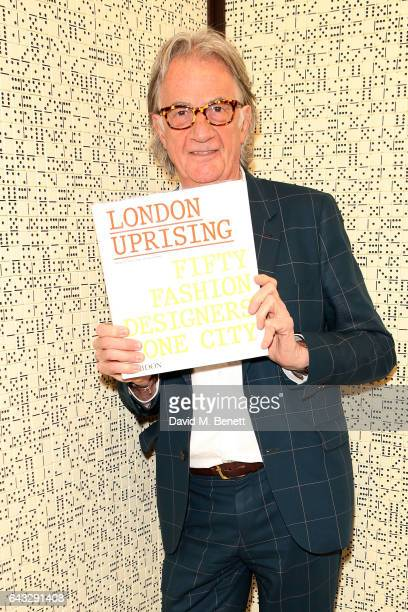 Sir Paul Smith attends the launch of new Phaidon book 'London Uprising Fifty Fashion Designers One City' hosted by Sir Paul Smith Tania Fares and...