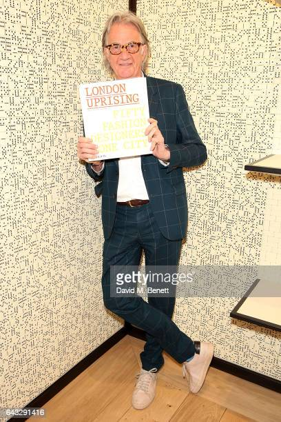 Sir Paul Smith attends the launch of new Phaidon book London Uprising Fifty Fashion Designers One City hosted by Sir Paul Smith Tania Fares and Sarah...