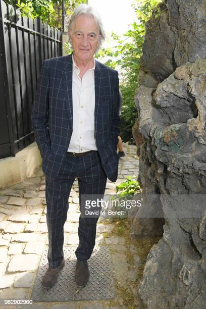 Sir Paul Smith attends the Paul Smith SS19 VIP dinner during Paris Fashion Week at Hotel Particulier Montmartre on June 24 2018 in Paris France