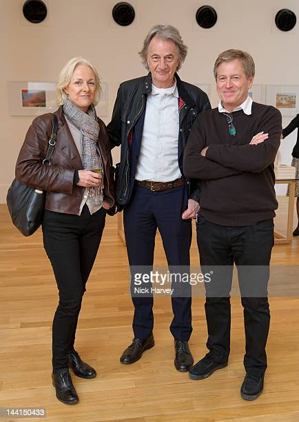Sir Paul Smith John Pawson and guest attend New Habitat Design Initiative And Private View Of John Pawson A Visual Inventory Book Launch on May 10...