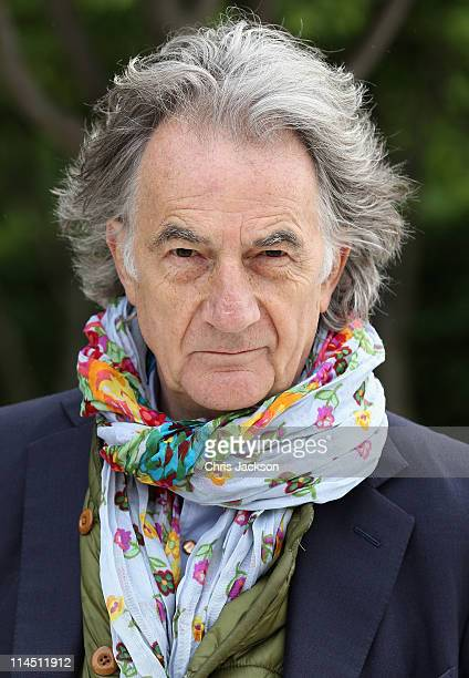 Sir Paul Smith poses for a photograph during Chelsea Flower Show Press and VIP Day on May 23 2011 in London England