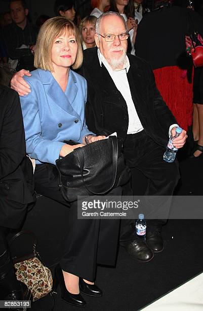 Sir Peter Blake attends the Betty Jackson fashion show at London Fashion Week Spring/Summer 2009 on September 17 2008 in London England