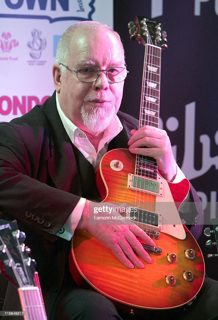 "Sir Peter Blake Launches the ""Call For Visual Artists"" Gibson Guitar Charity"