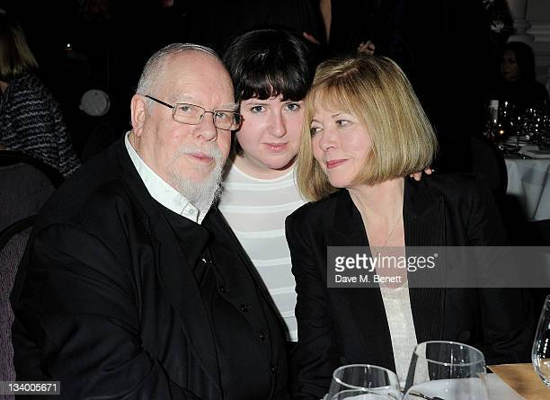 Sir Peter Blake Rose Blake and Chrissy Blake attend a dinner hosted by Pablo Ganguli and Ella Krasner in celebration of the Liberatum 10th...
