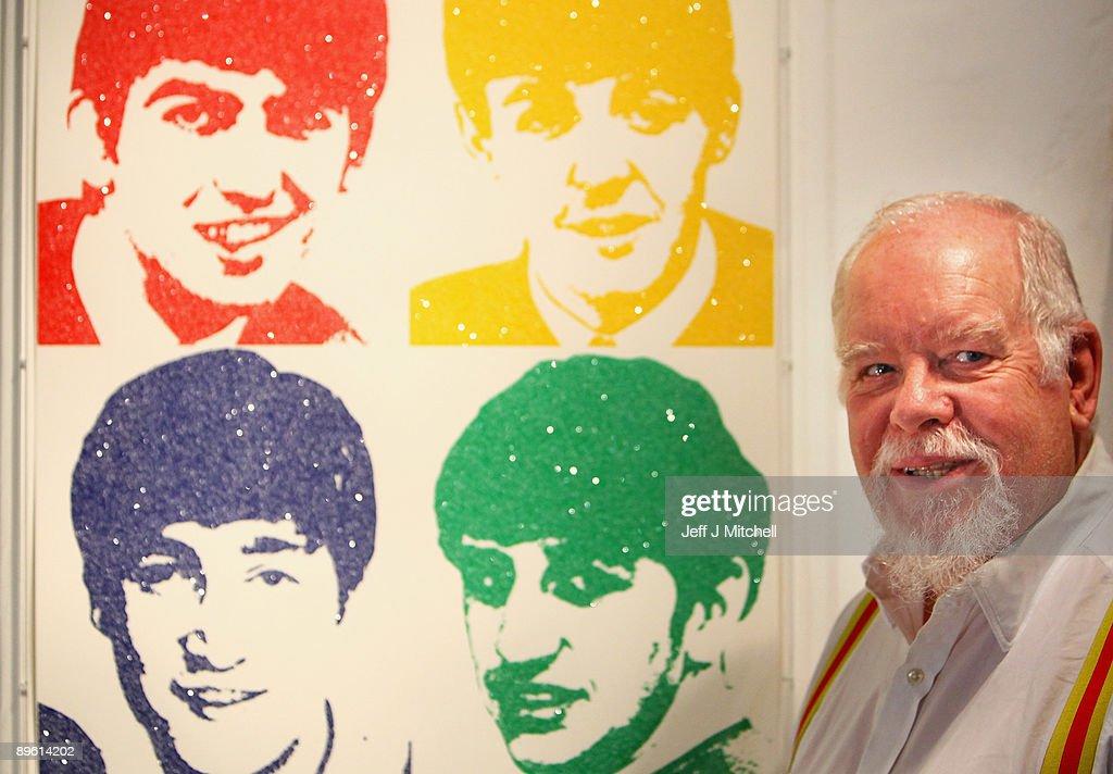 Sir Peter Blake Launches Edinburgh Art Festival : Nachrichtenfoto