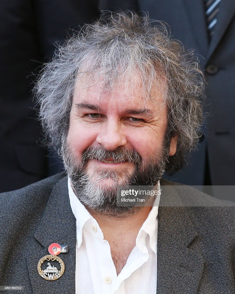 Sir Peter Jackson attends the ceremony honoring him with a Star on The Hollywood Walk of Fame on December 8, 2014 in Hollywood, California.