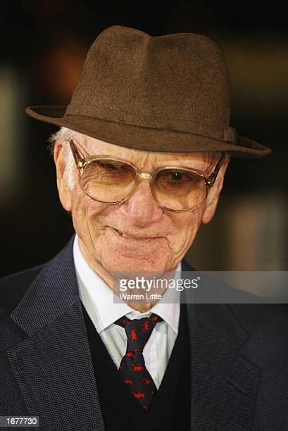 Sir Peter O'Sullevan arrives for the BBC Sports Personality of the Year Awards held at the BBC Television Centre in London December 8 2002