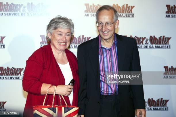 Sir Peter Ricketts and Lady Susan Ricketts attend at 'Asterix et Obelix au service de sa majeste' film premiere at 'Le Grand Rex' on September 30...