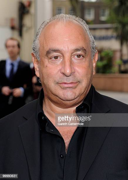 Sir Philip Green attends the launch party for the opening of TopShop's Knightsbridge store on May 19 2010 in London England