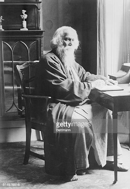 Sir Rabindranath Tagore Nobel Prize winner poet and philosopher