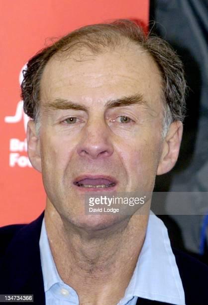 Sir Ranulph Fiennes during Sir Ranulph Fiennes Mt Everest Climb Press Launch in London Great Britain
